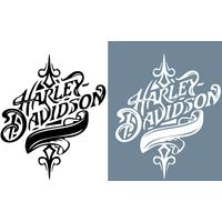 Stickers Harley Davidson  ref 10