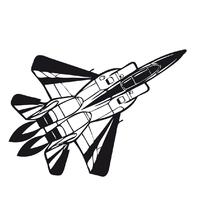 Stickers avion de chasse