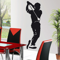 Stickers autocollant Golf Golfeur