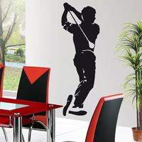 Stickers autocollant Golf Golfeur