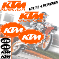 Stickers autocollant KTM Racing team 01