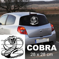 Stickers autocollant tuning serpent Cobra