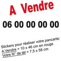 Stickers autocollant A VENDRE