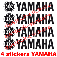 Stickers moto Yamaha Lot de 4