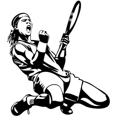 Stickers tennis NADAL