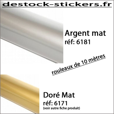 Vinyle Argent Mat 03