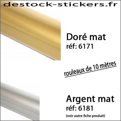 Vinyle Doré Mat 02