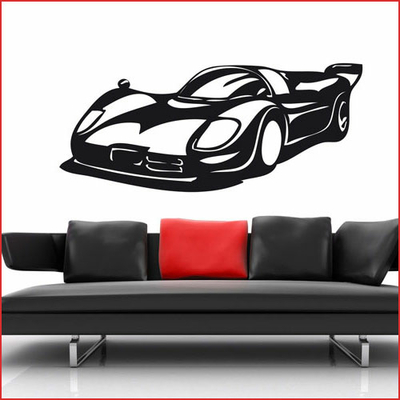 STICKERS VOITURE COURSE