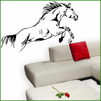 Stickers saut de cheval