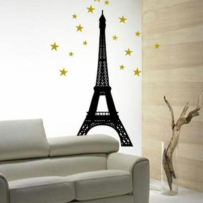 Sticker Tour Eiffel aux Etoiles