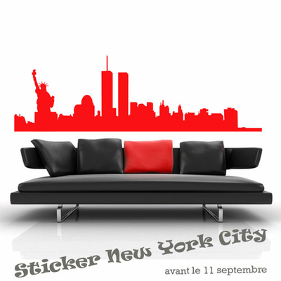 Sticker new-york-avec-stat.liberté