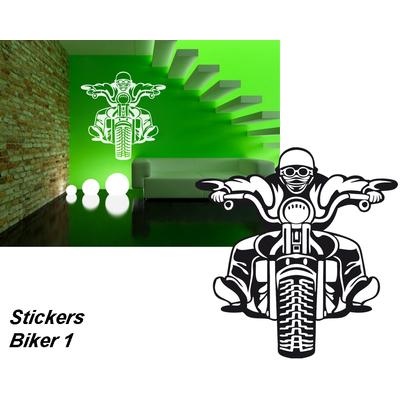 sticker Biker 01