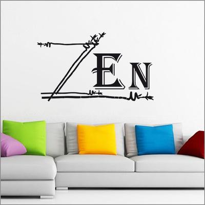 stickers zen bambous