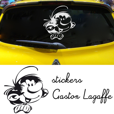 stickers Gaston Lagaffe 01