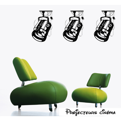 Stickers  projecteur cinéma
