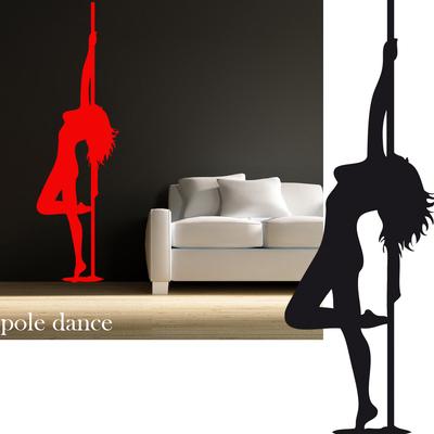 Stickers pole dance 01