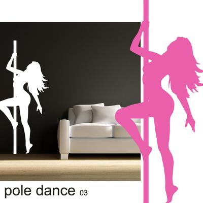 Stickers pole dance 3