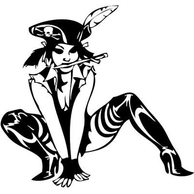sticker pirate sexy