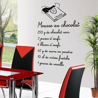 Stickers Mousse au chocolat 3