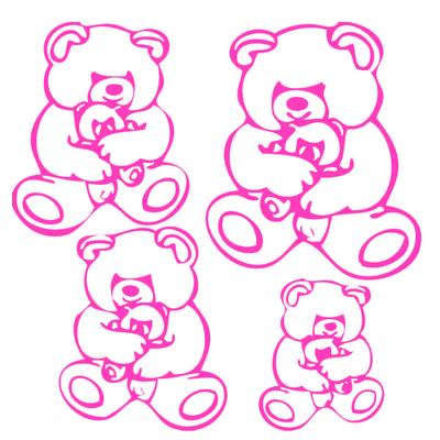 Stickers 4 nounours