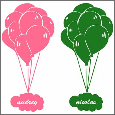 Stickers ballons-personnalisés