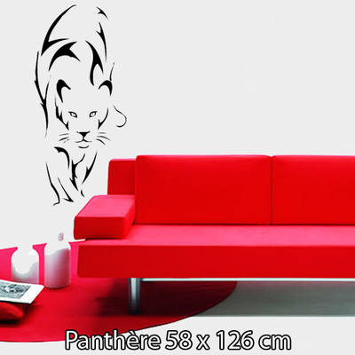 sticker panthère 58 x 126