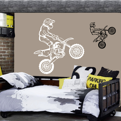 Stickers cross moto 6