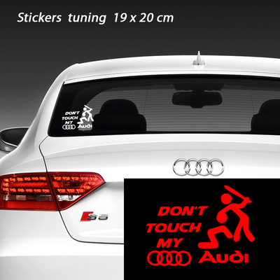 stickers tuning don't touch my AUDI
