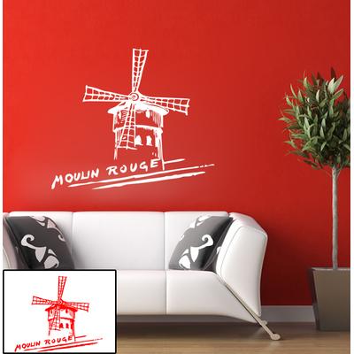 Stickers autocollant Moulin rouge Paris