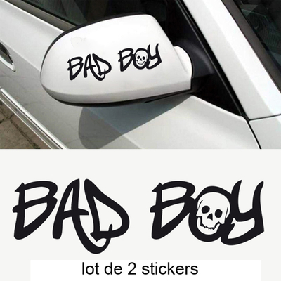 2 stickers voiture tuning BAD BOY 01