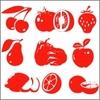 Stickers Cuisine 9 fruits et légumes