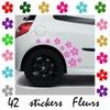 Stickers Tuning 42 fleurs déco