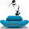 Stickers autocollant Jazzman stylisé