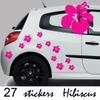 Stickers tuning 27 hibiscus