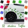 Stickers tuning Trèfles à 4 feuilles