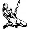 Sticker Tennis Rafael Nadal