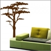 Sticker arbre savane