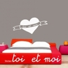 Sticker Coeur toi et moi