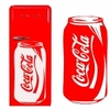 Stickers autocollant cuisine coca