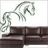 Sticker Cheval esquisse