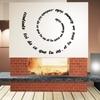 Stickers Texte en Spirale réf: 33