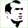 Stickers foot Zinedine Zidane