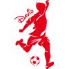 stickers footballeur personnalisé