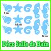 stickers sujets marin pour la salle de bain