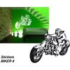 Stickers autocollant biker 4