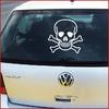 Stickers tuning  tête de mort skull 04