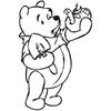 Stickers Winnie l'ourson ref 08