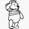 Sticker Winnie l'ourson 04