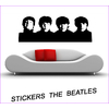 Stickers Beatles portraits