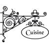 Stickers enseigne cuisine
